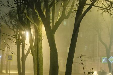 Туман и Город. Часть II (color).