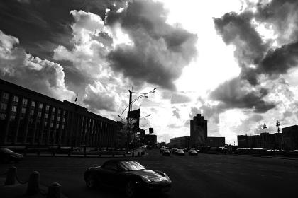 Город.