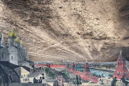 Студёнка, Сокровища Наполеона. 1812 г.