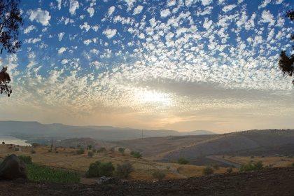 Панорама. Галиле́йское море. Израиль.