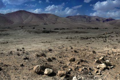Панорама. Пустыня Негев. Израиль.2010