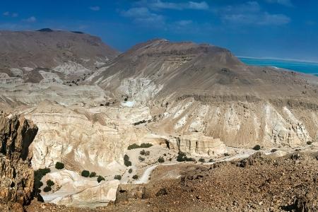 Панорама. Пустыня Негев. Израиль. Мертвое море.