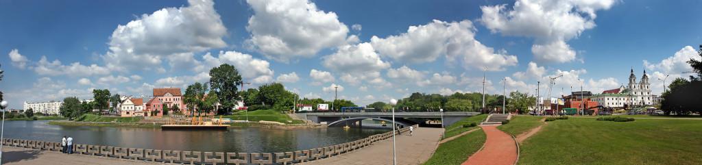 панорама. Минск