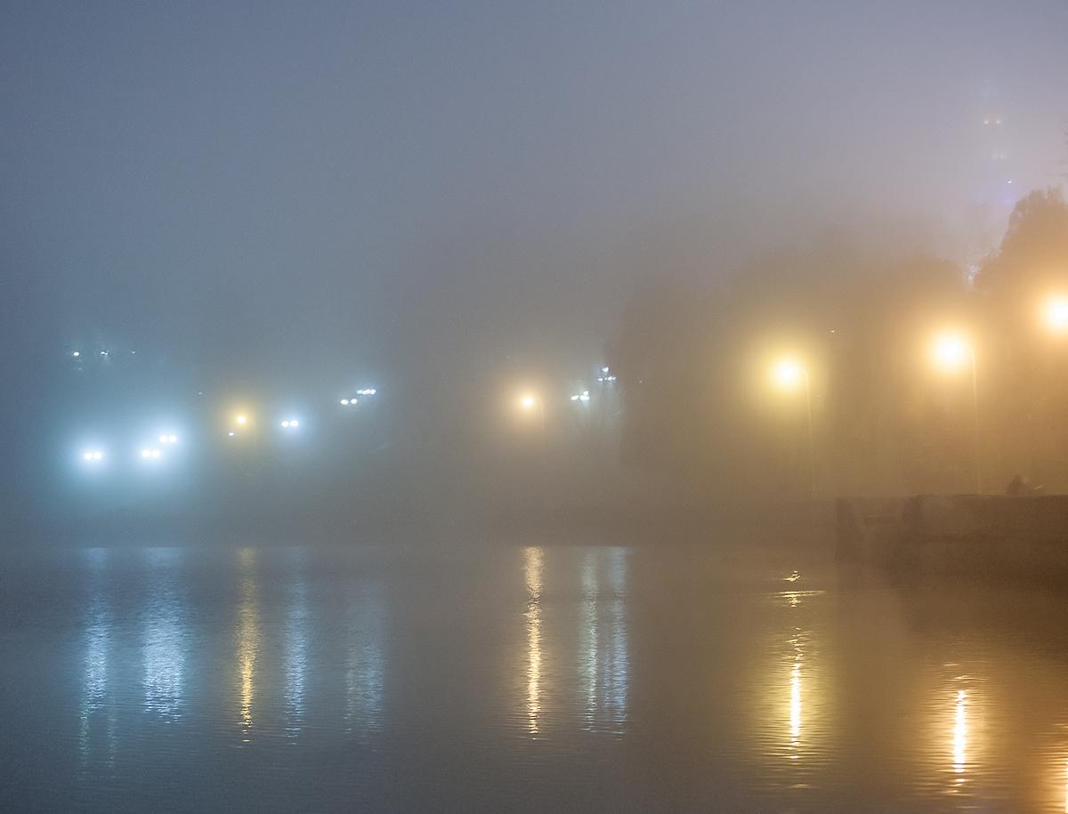 Туман и Город.(color)